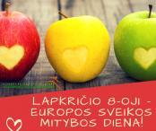 Lapkričio 8-oji Europos sveikos mitybos diena