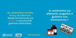Koronavirusas – mitai ir faktai