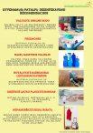 Gyvenamųjų patalpų dezinfekavimo rekomendacijos