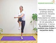 Fizinio aktyvumo rekomendacijos karantino laikotarpiu