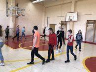 """Paskaita-užsiėmimas """"Fizinio aktyvumo nauda"""" 9 klasės mokiniams"""