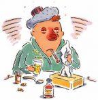 Sergamumas gripu ir ŪVKTI didėja