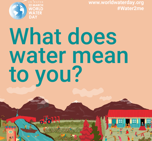 """Pasaulinės vandens dienos kampanija """"Vandens vertinimas"""""""