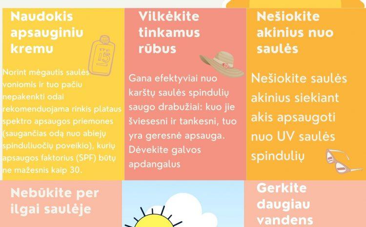 KARŠTAS ORAS: rekomendacijos, kaip apsisaugoti