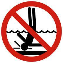 Saugokitės traumų vandenyje!
